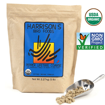 Harrison's Pepper Lifetime Coarse Bird Food