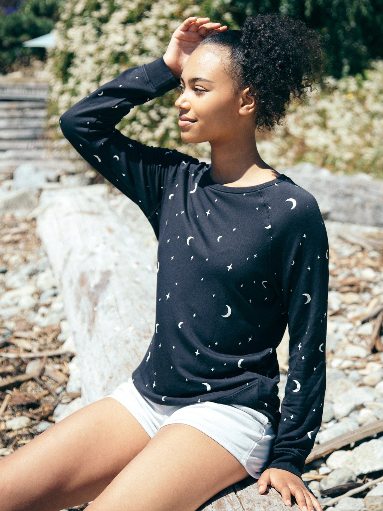 Arden Sweatshirt Sweatshirt Thread & Supply S Black Night Sky