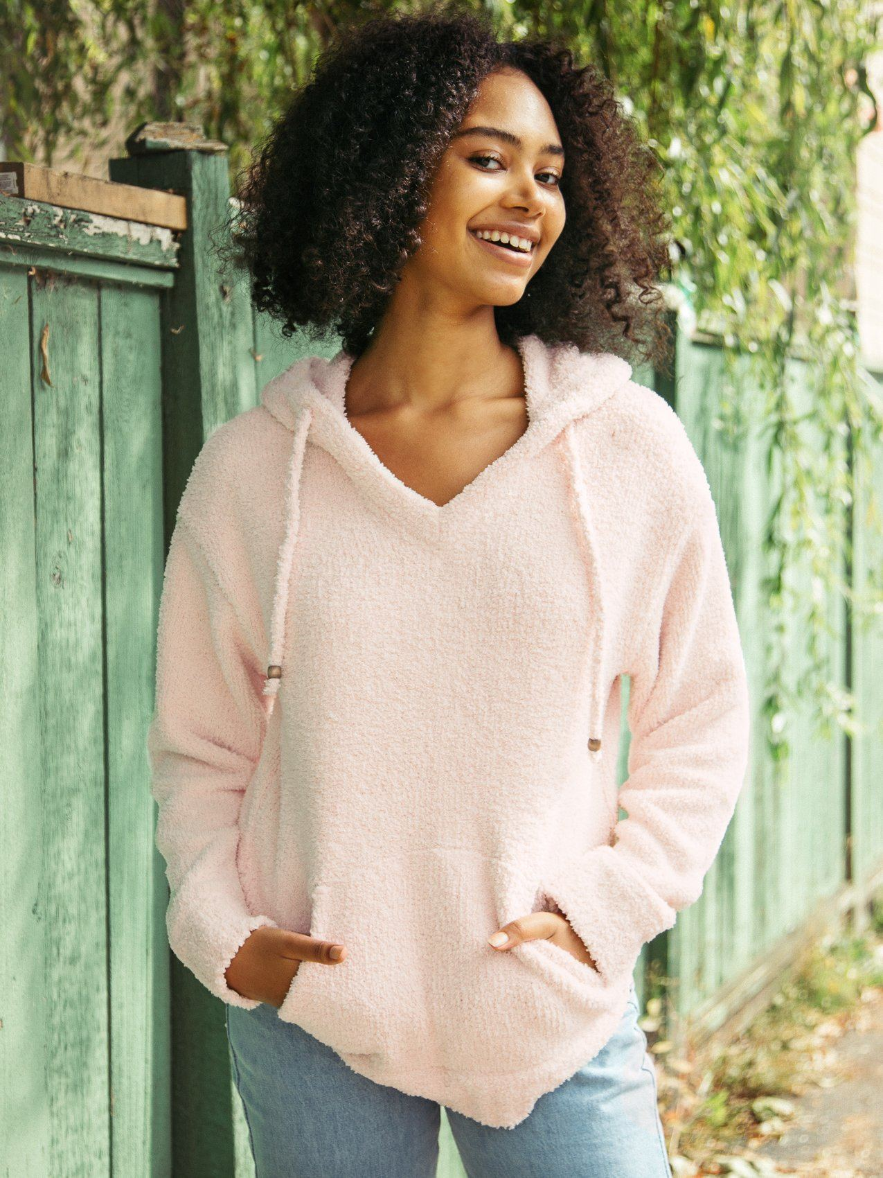 Connie Pullover Sweater Thread & Supply Blush S