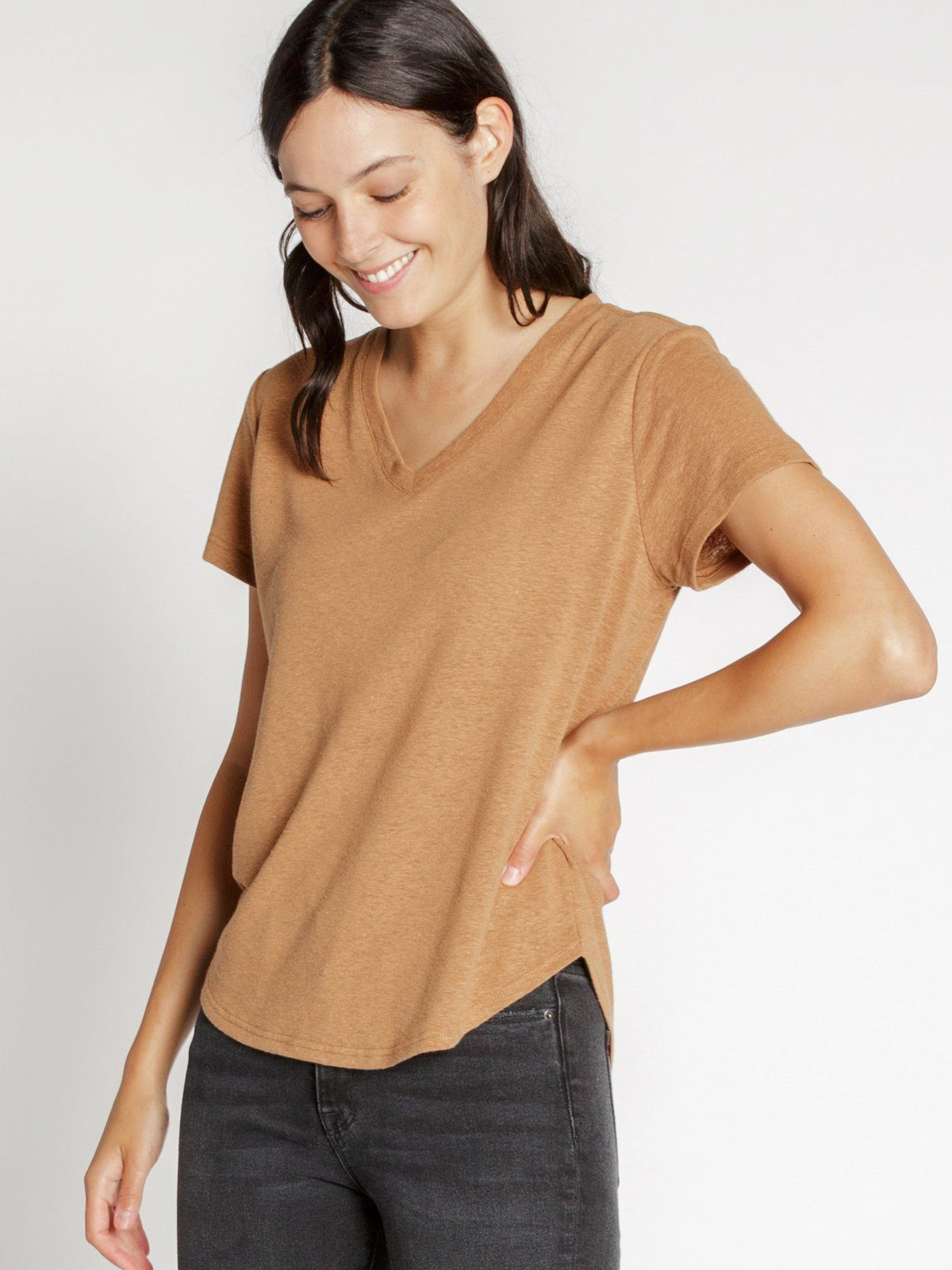 Delta Tee T-shirts Thread & Supply Cashew Brown S