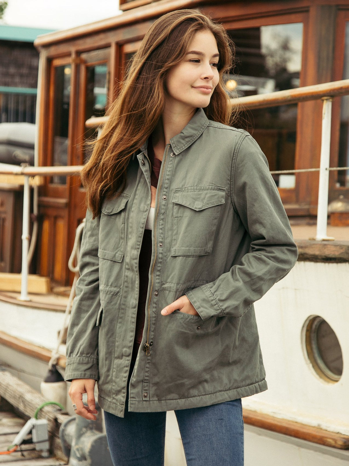 Drifting Slowly Jacket Jacket Thread & Supply Shrub S