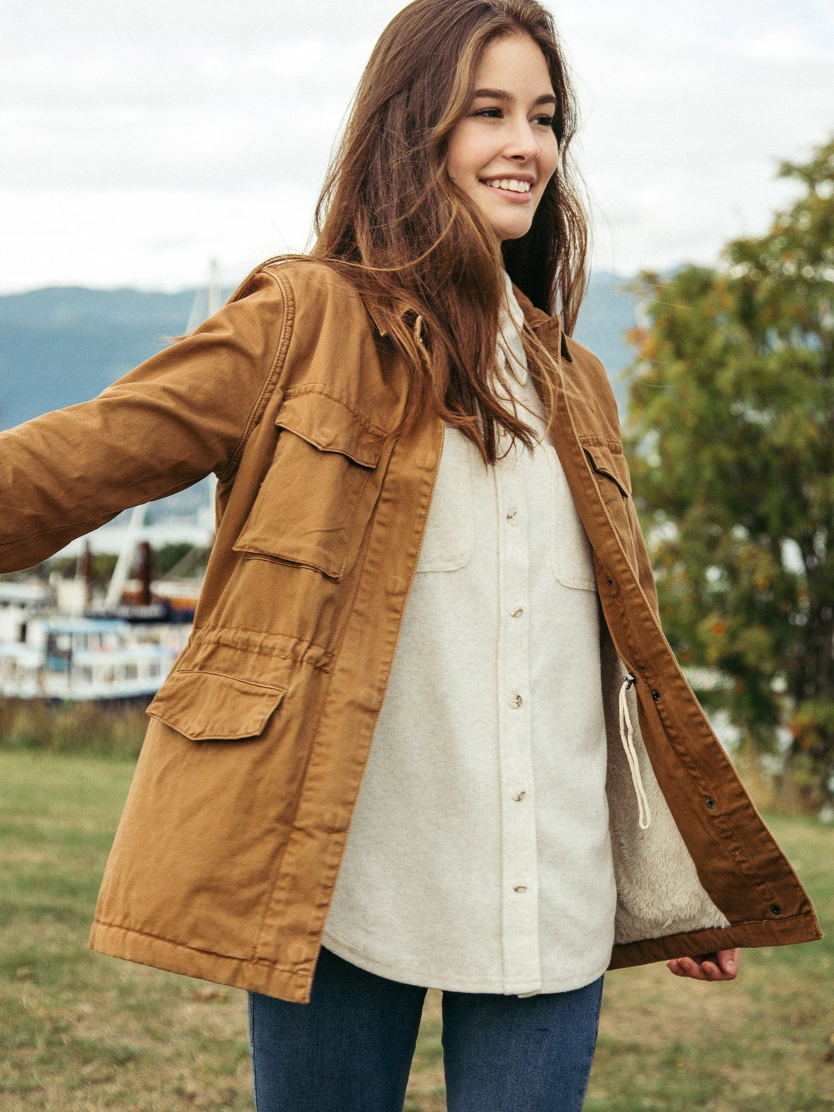 Drifting Slowly Jacket Jacket Thread & Supply Tawny S