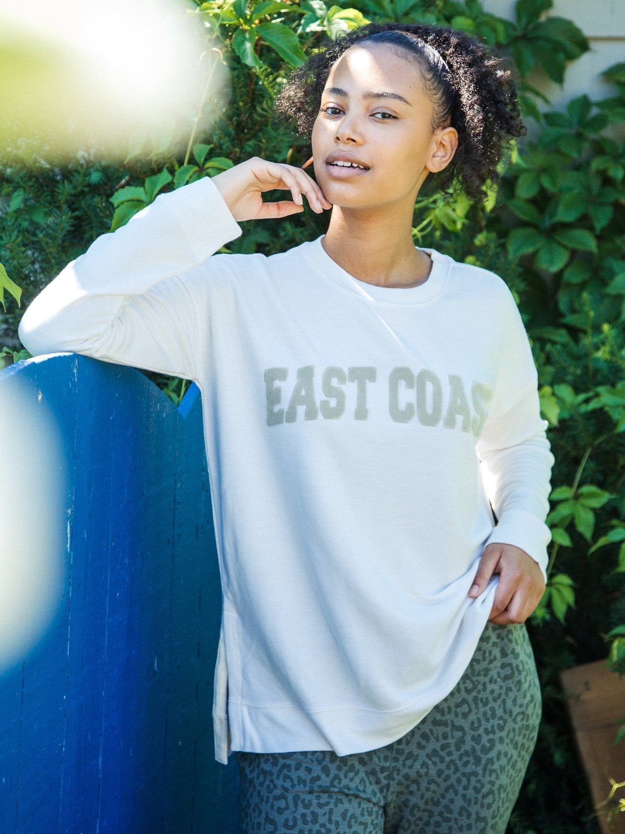 East Coast Arden Sweatshirt Sweatshirt Thread & Supply S Ivory