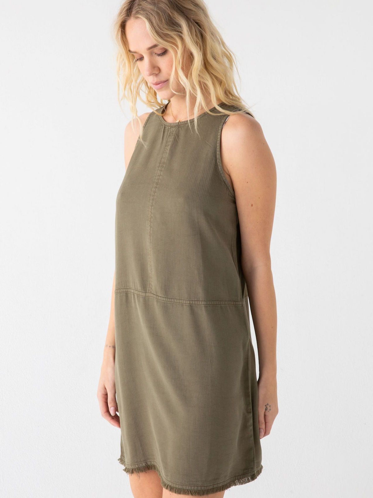 Feria Dress Thread & Supply Olive S