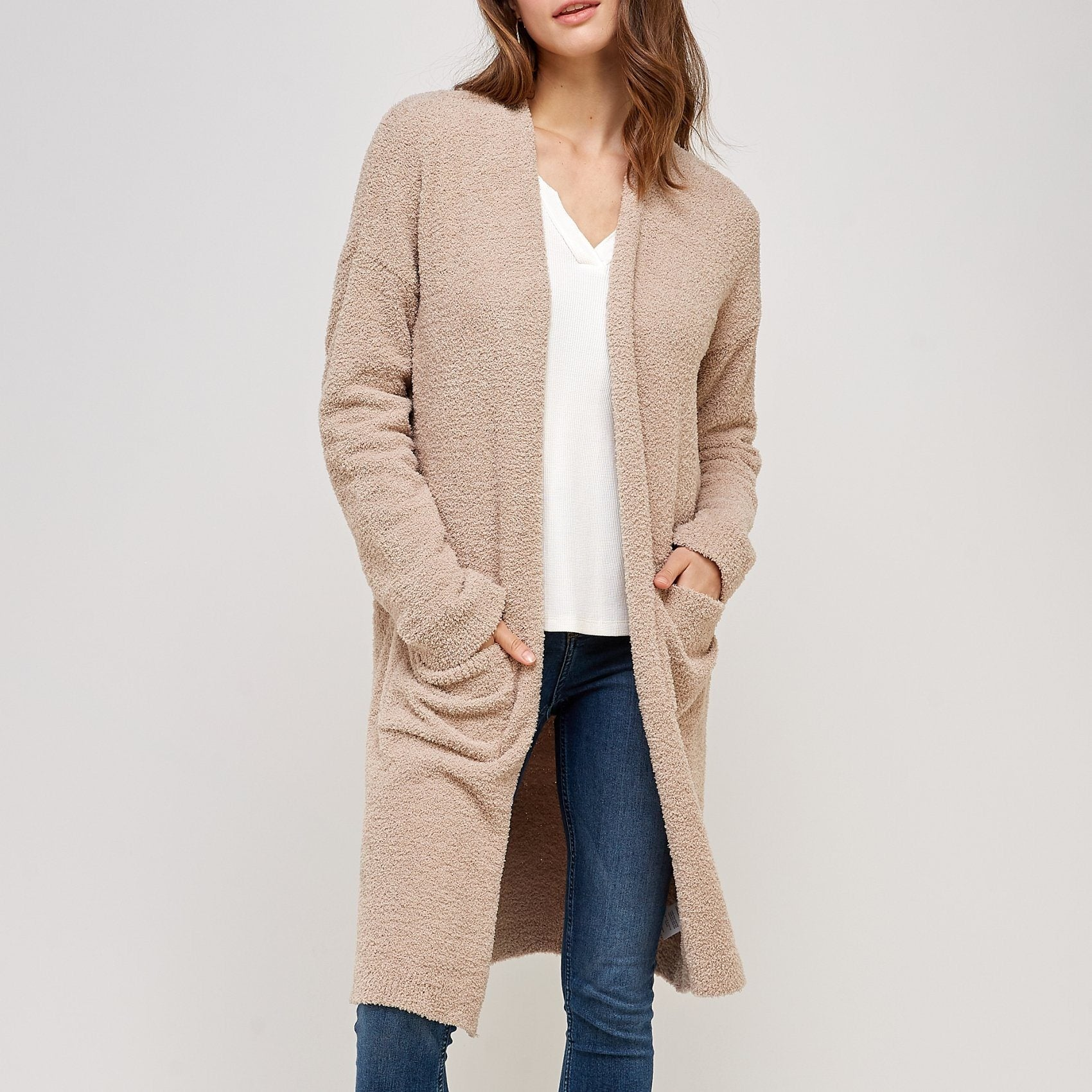 Hailee Cardigan Thread & Supply Black S