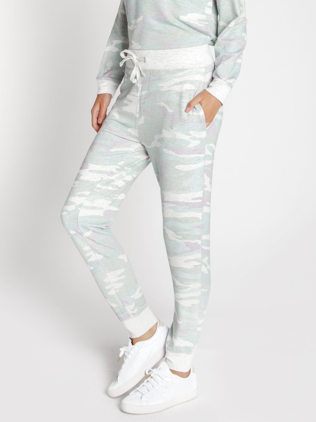 Jacey Jogger Pants Thread & Supply Heather Storm S