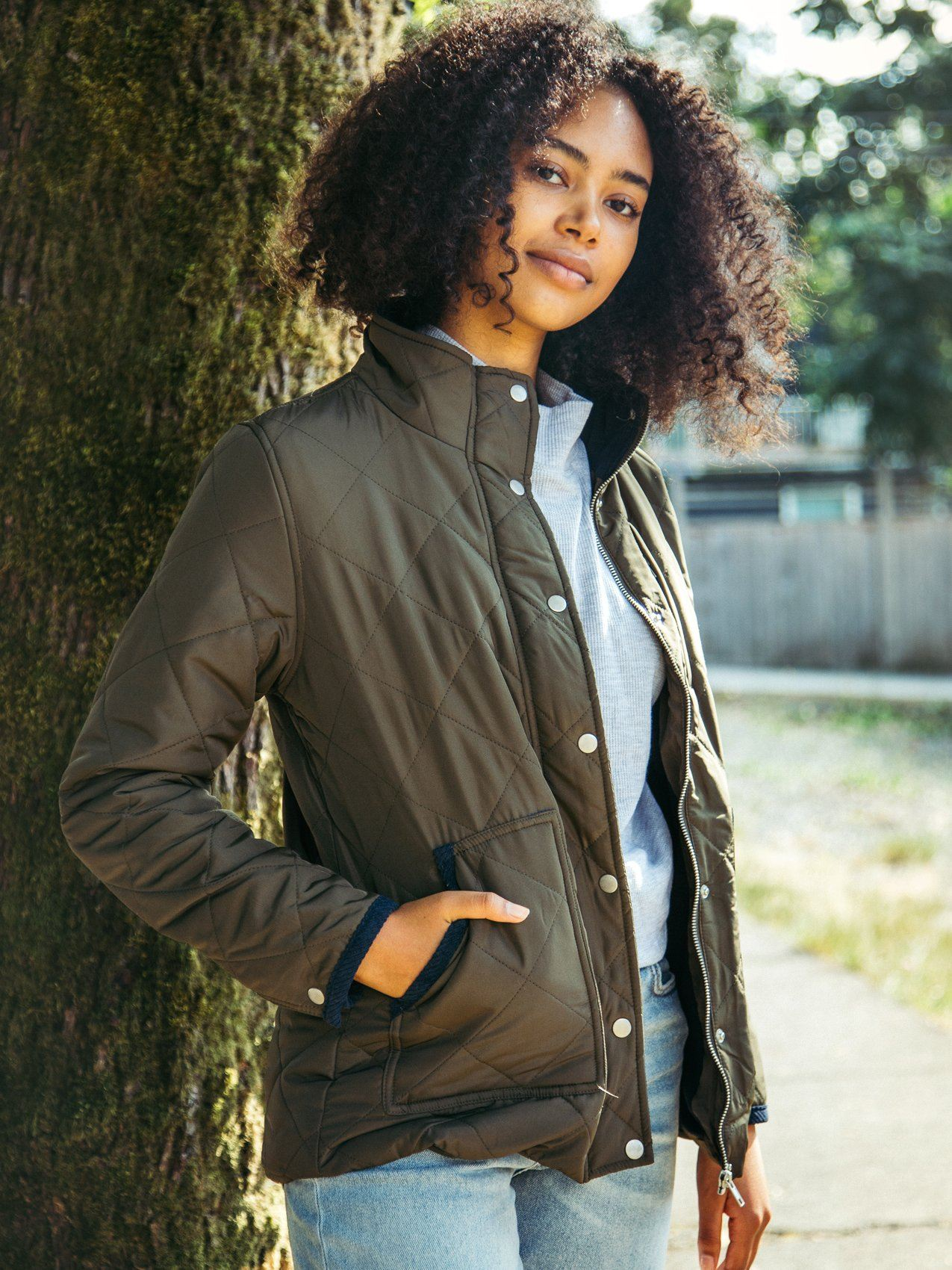 Jenson Jacket Jacket Thread & Supply BRONZE S