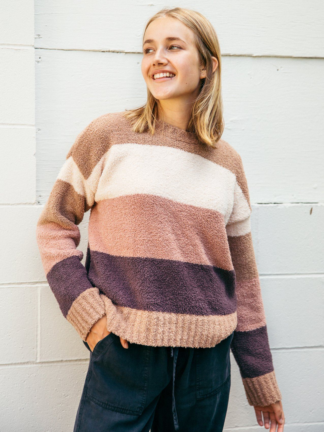 Mara Sweater Sweater Thread & Supply GINGERBREAD LATTE S