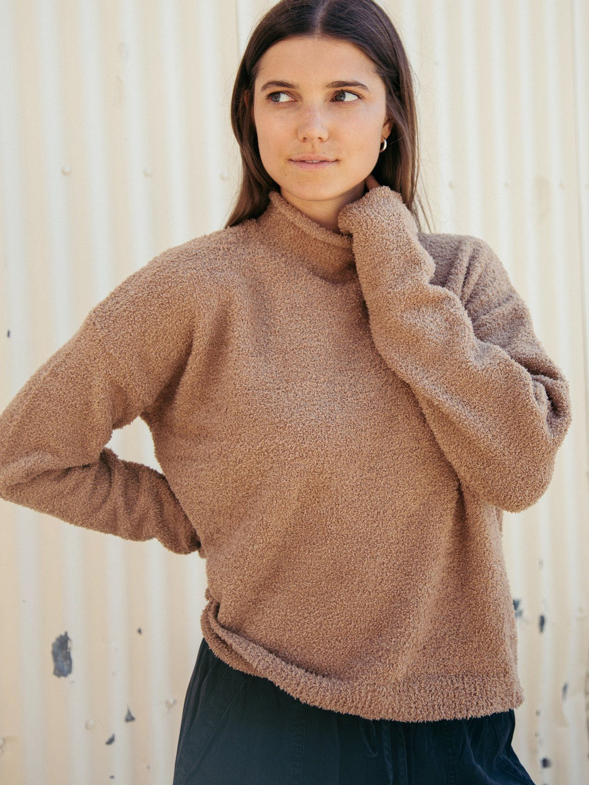 Mitzie Sweater Sweater Thread & Supply Mocha S