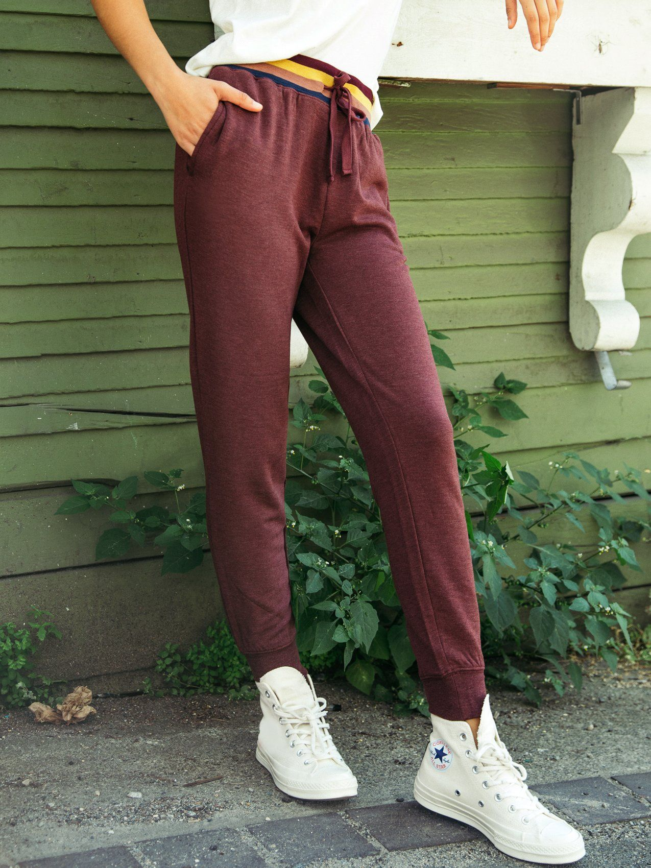 Moxie Jogger Thread & Supply Bordeaux S