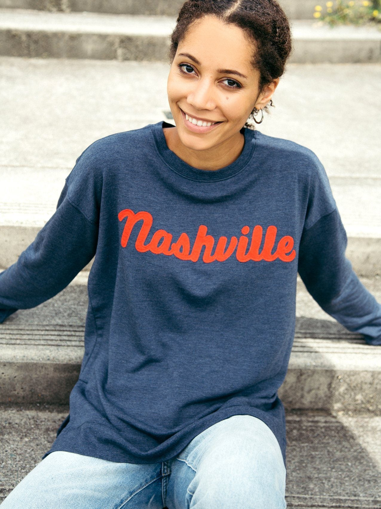 Nashville Arden Sweatshirt Sweatshirt Thread & Supply S Navy