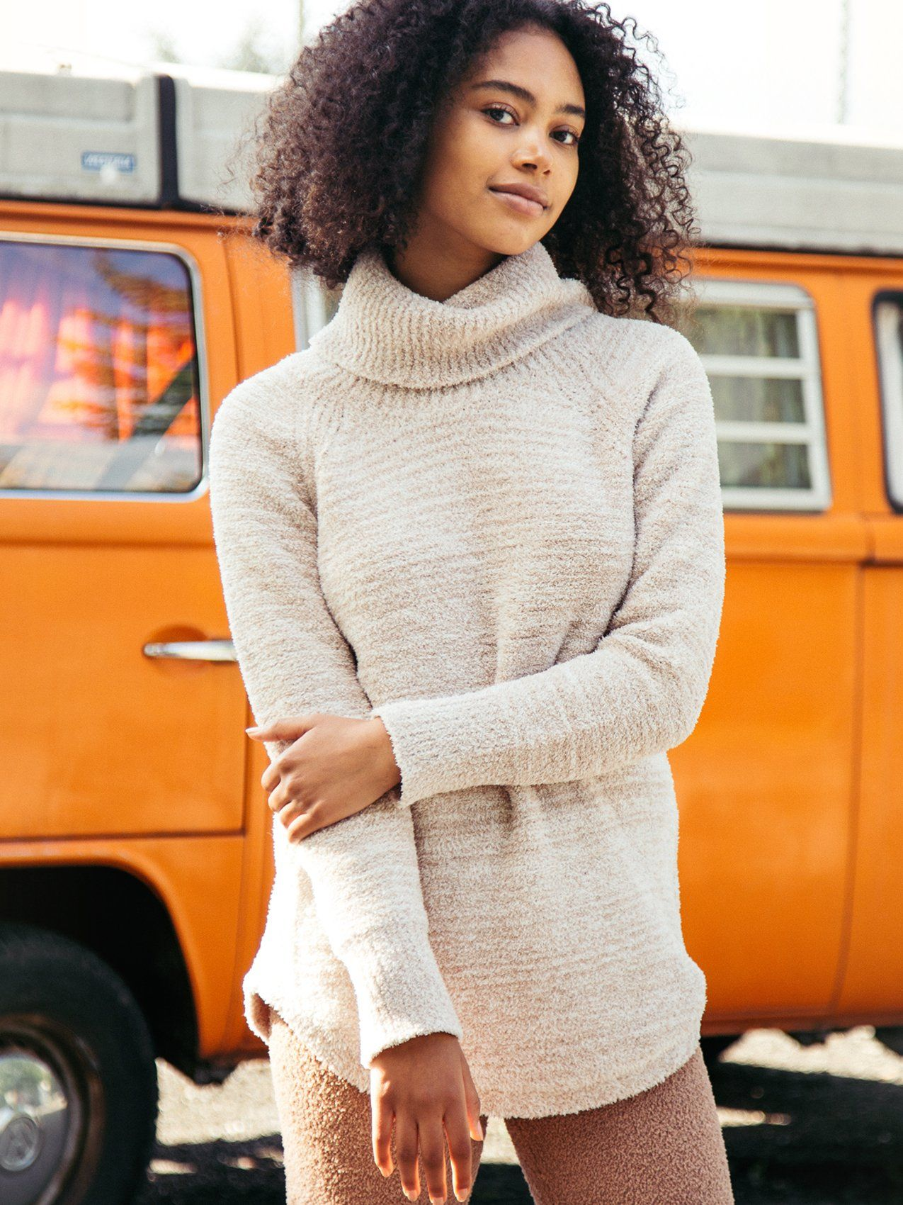 Nova Sweater Sweater Thread & Supply TAUPE MELANGE S