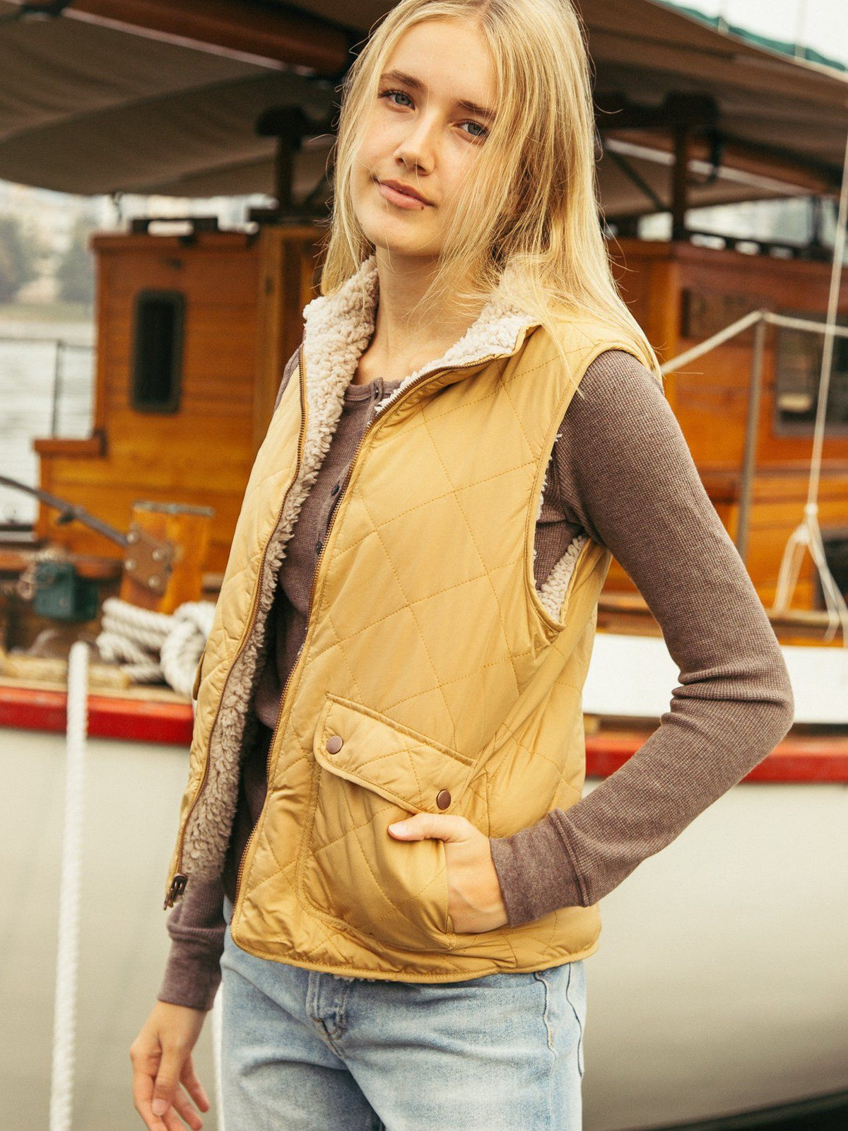 Park City Vest Vests Thread & Supply Amber S
