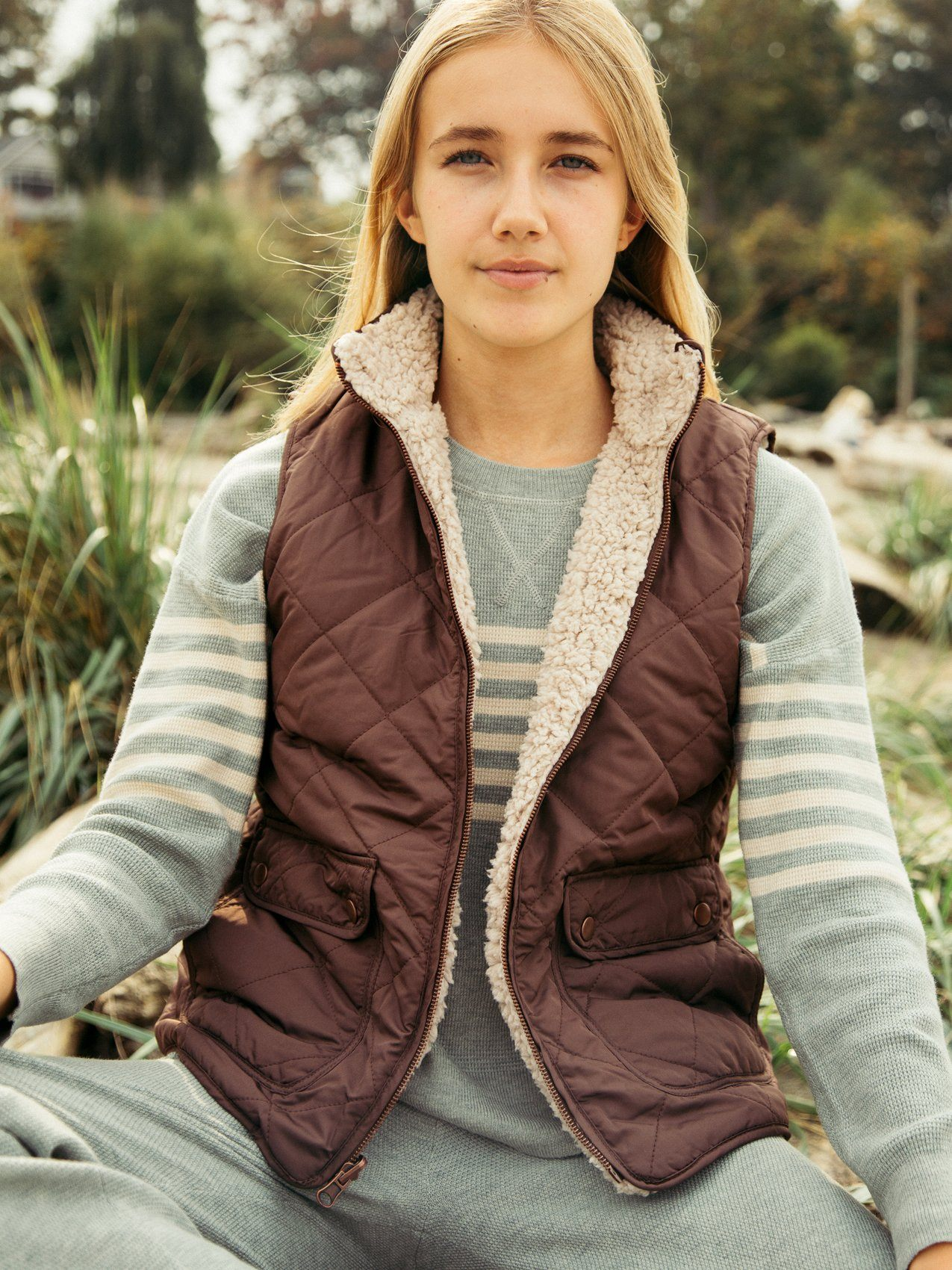 Park City Vest Vests Thread & Supply Black S