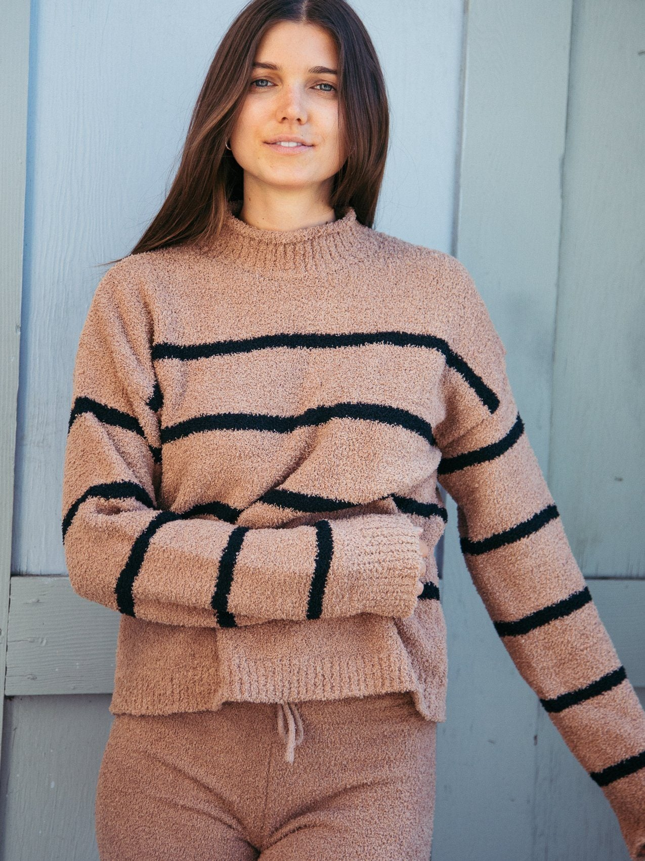Rue Sweater Sweater Thread & Supply Mocha Black S