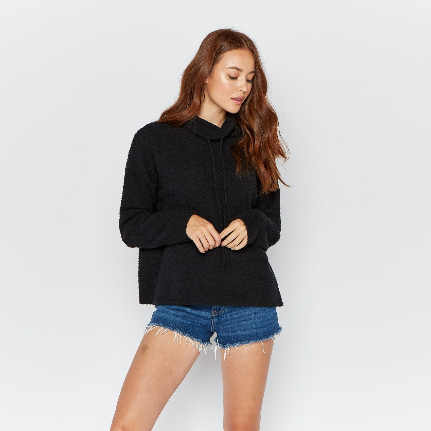 Nicole Sweater Thread & Supply Black M