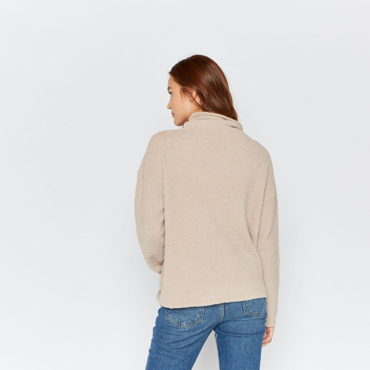 Nicole Sweater Thread & Supply Taupe L