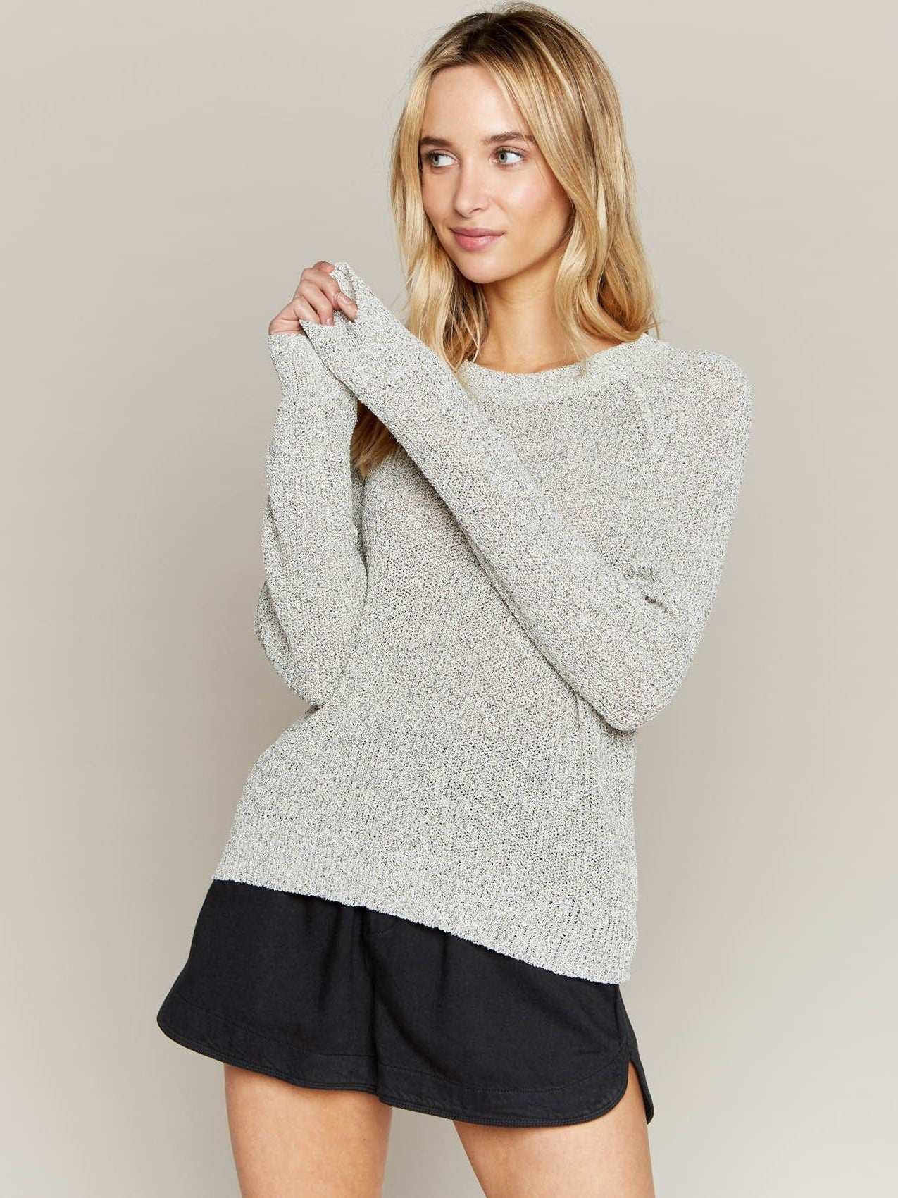 Rosemary Sweater Sweater Thread & Supply Cookies and Cream S