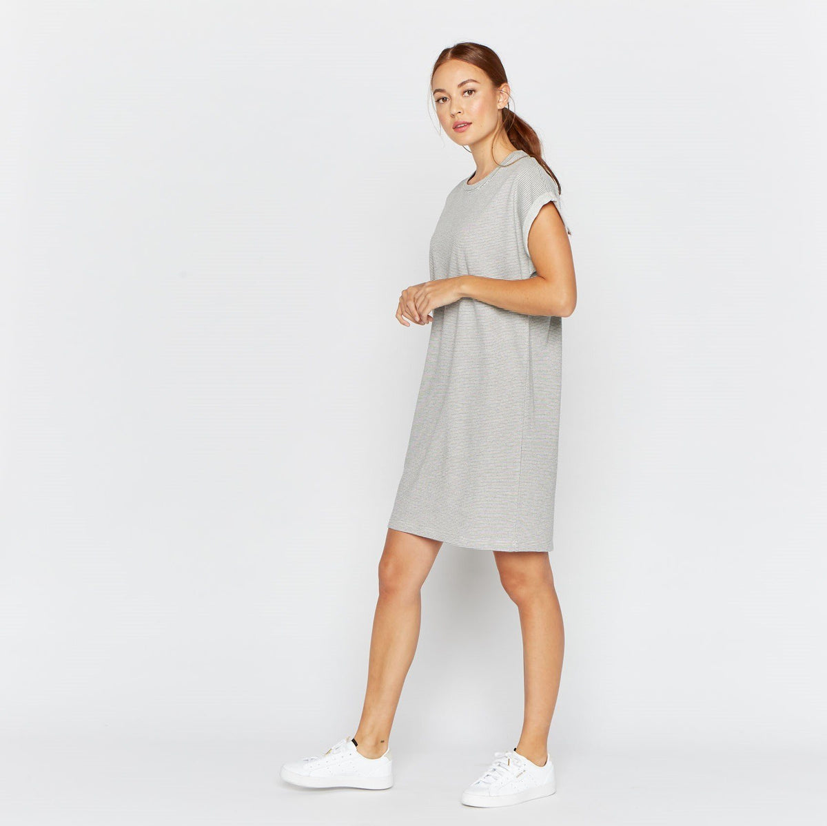 Reed Park Dress Thread & Supply Grey Stripe S