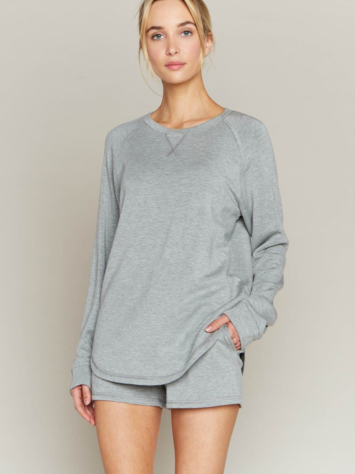 Feel at Home Sweatshirt Unclassified Thread&Supply Ht. Grey S