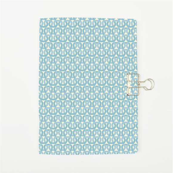 Delicate Blue Cover Traveler's Notebook Insert - All Sizes and Patterns C052