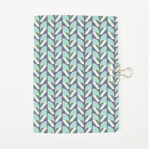Geometric Blue Cover Traveler's Notebook Insert - All Sizes and Patterns C053