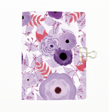 Purple Roses Cover Traveler's Notebook Insert - All Sizes and Patterns C011