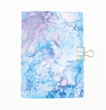 Blue Watercolour Cover Traveler's Notebook Insert - All Sizes and Patterns C012