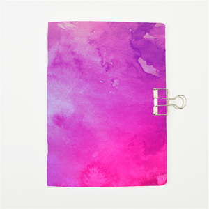 Pink Galaxy Cover Traveler's Notebook Insert - All Sizes and Patterns C035
