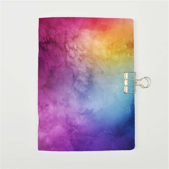 Rainbow Watercolour Cover Traveler's Notebook Insert - All Sizes and Patterns C036