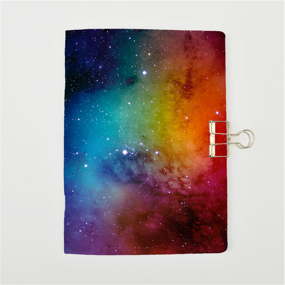 Rainbow Galaxy Cover Traveler's Notebook Insert - All Sizes and Patterns C038