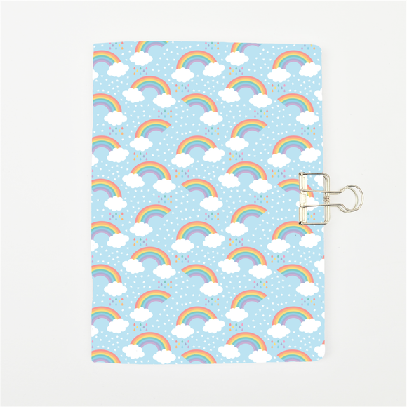 Rainbow Cloud Cover Traveler's Notebook Insert - All Sizes and Patterns C042