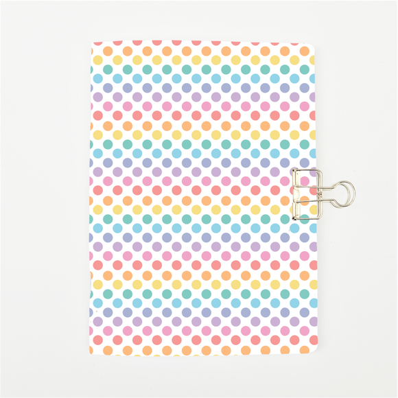 Rainbow Dots Cover Traveler's Notebook Insert - All Sizes and Patterns C044