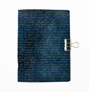 Blue Magic Script Cover Traveler's Notebook Insert - All Sizes and Patterns C130