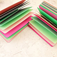 """Watermelon"" Pink and Green Traveler's Notebook Insert - All Sizes, Plain or Dot Grid"