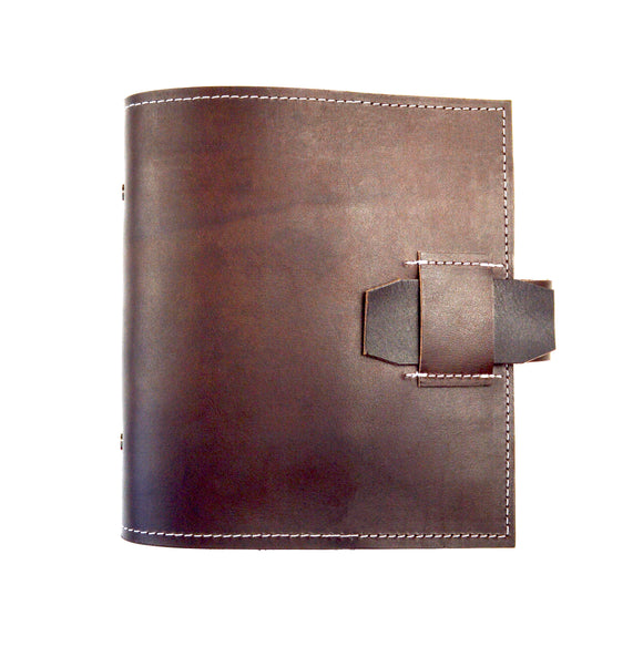 Italian Leather Ring Planner Covers