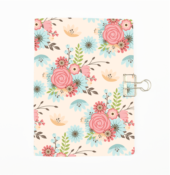 Amelia Floral Cover Traveler's Notebook Insert - All Sizes and Patterns C007