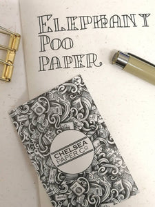 Elephant Poo Paper Traveler's Notebook Insert