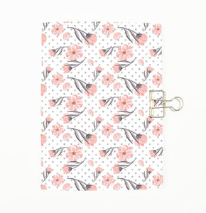 Pink Flowers Cover Traveler's Notebook Insert - All Sizes and Patterns C099