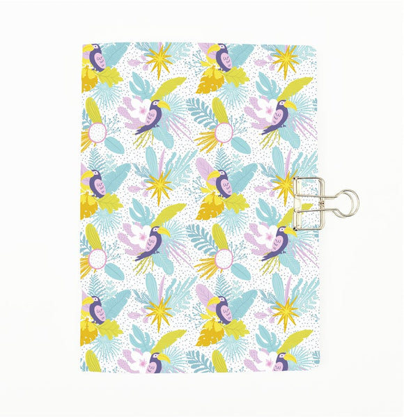 Tropical Parrot 1 Cover Traveler's Notebook Insert - All Sizes and Patterns C095