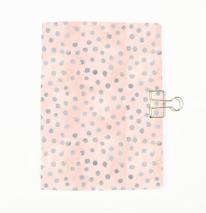 Silver Dots Cover Traveler's Notebook Insert - All Sizes and Patterns C101