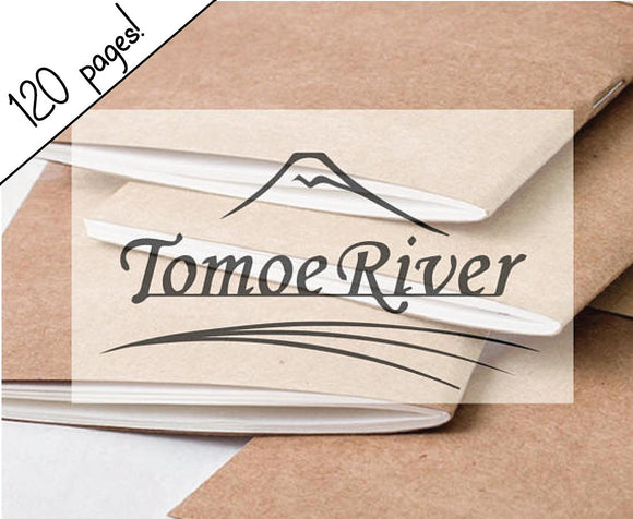 120 page (Extra Large) Tomoe River Paper Traveler's Notebook Insert