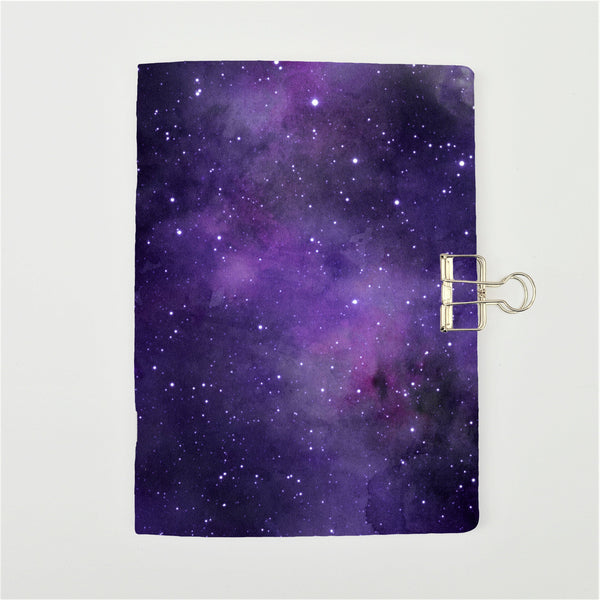 Purple Galaxy Cover Traveler's Notebook Insert - All Sizes and Patterns C037