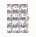 Planner Addict Heart Clips Cover Traveler's Notebook Insert - All Sizes and Patterns C107