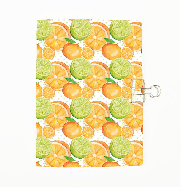 Citrus Fruits Cover Traveler's Notebook Insert - All Sizes and Patterns - C124