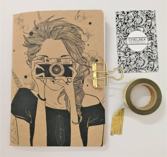 Planner Girl Camera Cover Traveler's Notebook Insert - All Sizes and Patterns C009