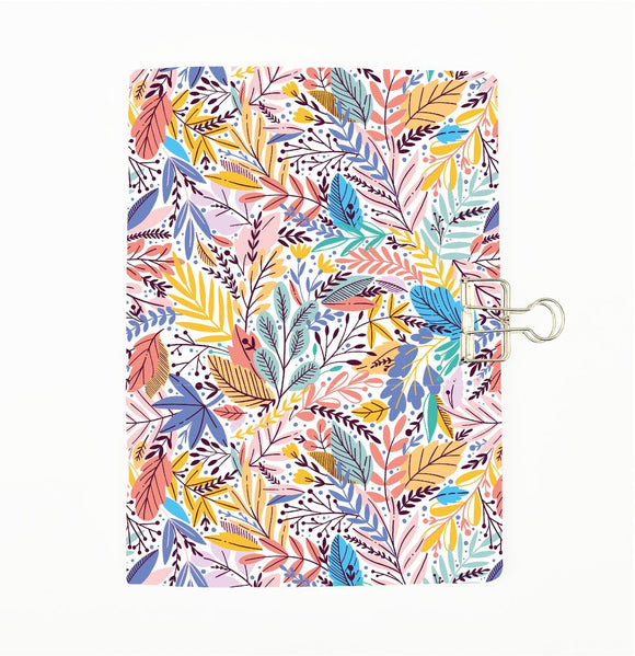 Tropical Leaves 1 Cover Traveler's Notebook Insert - All Sizes and Patterns C091