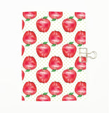 Apples for the Teacher Cover Traveler's Notebook Insert - All Sizes and Patterns C123