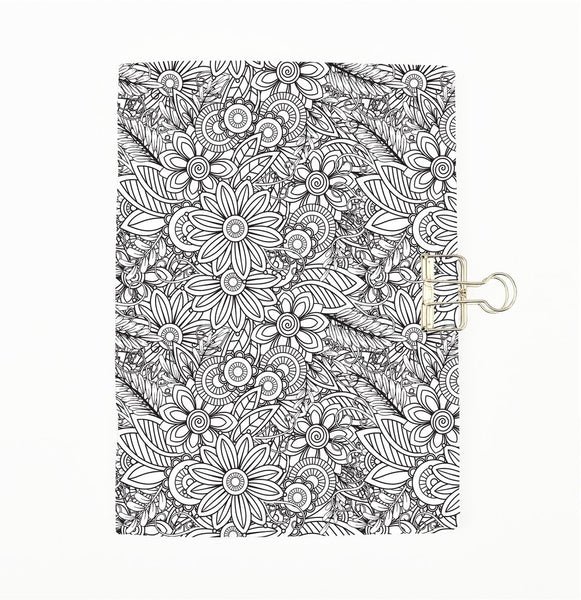 Set of 4 Colour Me Traveler's Notebook Insert - All Sizes and Patterns C067/068/069/070