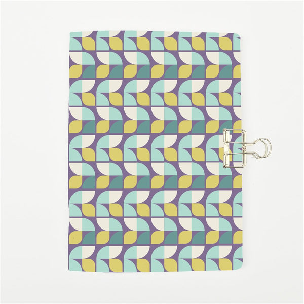 Retro Geometric Cover Traveler's Notebook Insert - All Sizes and Patterns C054